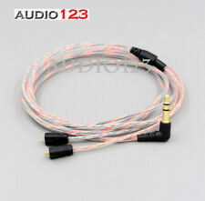 Audio123 UPDRADE Clear Rainbow Cable For Ultimate Ears UE TF10 SF3 SF5 5EB 5pro