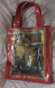 Orange Tabby Cat small tote bag, NEW  Cat Lover gift