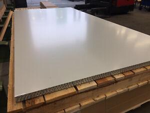 Luxboard - Luxpanel -  Aluminium Wabenplatte - Wabenverbundplatte - Handmuster