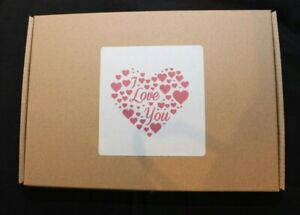 Valentines Day Sweet Hamper Personalised Gift Box