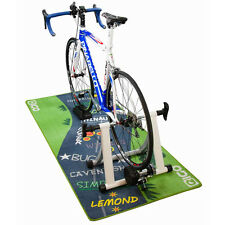 New 'Le Col' Design Bicycle / Garage / Turbo Trainer Floor Mat (180cm x 80cm)