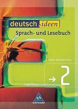 Deutsch.ideen 2. Schülerband. Baden-Württemberg 6. Klasse NEUWERTIG