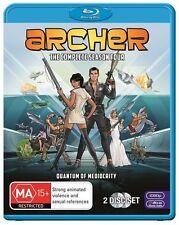 Archer : Season 4 (Blu-ray, 2014, 2-Disc Set)