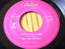 "PAUL McCARTNEY - YOUR LOVING FLAME / LONELY ROAD    7"" VINYL"