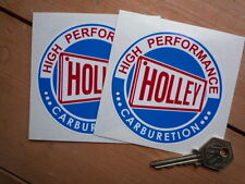 Holley Carburetion Stickers Ford GT Chevrolet Rover V8