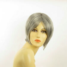 short wig woman smooth gray ref: BLANDINE 51