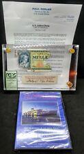 SS Andrea Doria Shipwreck Banknote 1000 Lire Italy + DVD + COA Authenticity