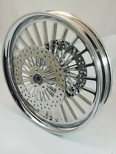 21 x 3.25 HARLEY DAVIDSON ROAD KING CHROME LEGEND WHEEL ABS With ROTORS