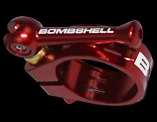 Bombshell Ti Seat Clamp 25.4 Red