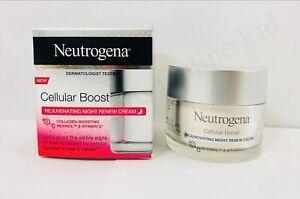 Neutrogena Cellular Boost Rejuvenating Night Renew Cream 50ml