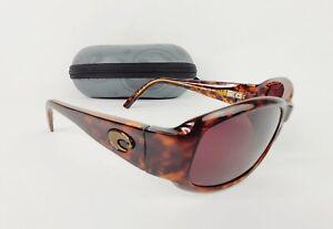 Costa Del Mar Vela VL 10 Sunglasses Tortoise Brown w/ Case USED