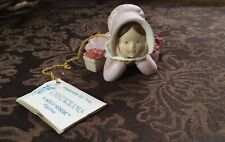 "1983 Holly Hobbie ""Daydreams"" Figurine~Miniatures Collection Series IX"
