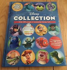 The Disney Collection:4 Movie Stories, Over 100 Stickers Plus Colouring And More