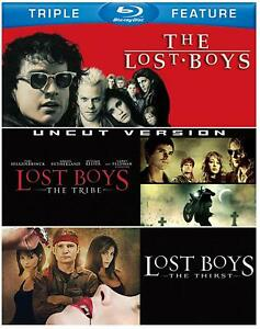 The Lost Boys Trilogy Complete 1, 2 & 3 Blu ray Box Set RB Uncut Version