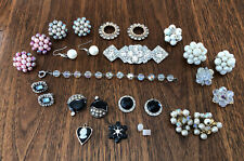 Wear, Repair, Upcycle, Weiss, Marvella Vintage Estate Jewelry Lot ~