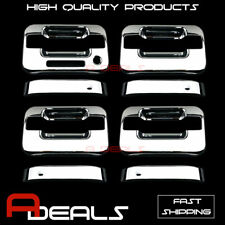 FOR FORD F-150 2004~2010 11 12 2013 2014 CHROME DOOR HANDLE COVER (WITH KEY PAD)