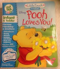 Leap Frog Little Touch Leappad, Pooh Loves You Brand New In Sealed Pack