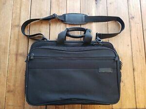Briggs & Riley Bag Ballistic Nylon Laptop Messenger Briefcase Shoulder Strap