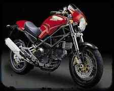 Ducati M900S 97 A4 Metal Sign Motorbike Vintage Aged