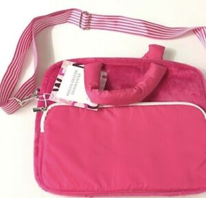 Ariana Grande Plush Laptop bag Pink NEW, SEALED Bag only