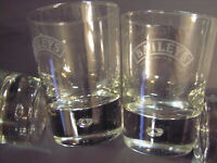 Bar glasses, Etching says Baileys' The orignial Irish Cream, 4- GLASSES