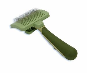 Safari Self Cleaning Slicker Brush for Cats | Stainless Steel Grooming Tool