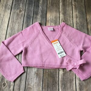 Gymboree Cardigan Easter Sweater New Girl 3T Pink Ballet Class Wrap Church Party
