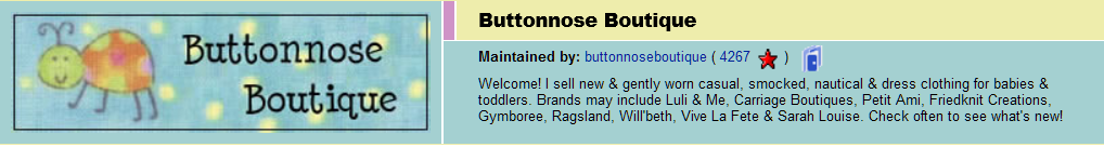 Buttonnose Boutique