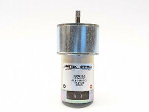 AMETEK GM9413-3 Gearmotor 65.5:1 12/24VDC
