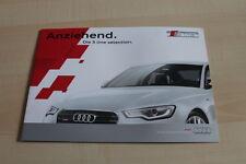 138995) Audi Q3 A4 A5 A6 A7 - S Line Selection - Prospekt 04/2013