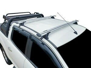 Alloy Roof Rack Cross Bar for Mazda BT-50 Dual Cab 2012-20 135cm Extended