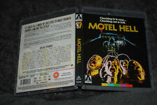 Motel Hell - OOP Arrow Blu - Rare Booklet - Rory Hell Comes to Frogtown Calhoun