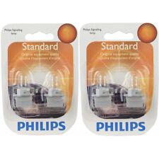Two Philips Standard Mini Light Bulb PC194B2 for PC194 T-3 1/4 14V 3.78W mg