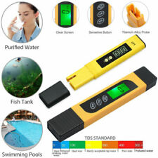 PH Meter TDS EC Wassermessgerät Tester PH-Wert Meter Messgerät Aquarium Pool NEU