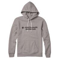 Jaguar Drivers logo tribute hoodie grey