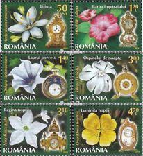 Roemenië 6715-6720 (compleet Kwestie) MNH 2013 Bloemen en Horloges