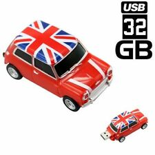 PENDRIVE 32GB USB FLASH 2.0 COCHE MINI CAR