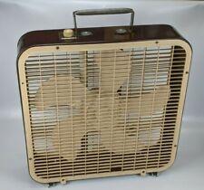 "Lakewood No. P-223 Box Fan 20"" 3-Speed - vintage window floor 120v USA"