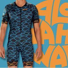 ZOOT Mens LTD TriSuit Aero Triathlon Skinsuit Racesuit Small Aloha