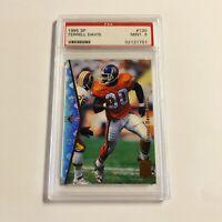 1995 Upper Deck SP Terrell Davis Rookie Card RC #130 PSA 9 Mint Broncos HOF'er