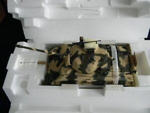 Franklin Mint 1:24 CAMO M4-A3 Sherman Tank # B11B649