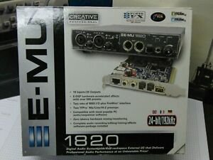 E-MU Digital Audio System 1820 (18 In/ 20 Out - 24Bit mit DSP) - ohne Verpackung