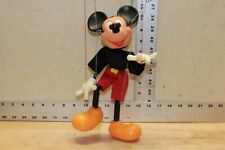 Walt Disney Character Mickey Mouse String Puppet 2315 Action Frame Control 1977