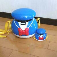 Donald Duck Popcorn Bucket  ×  candy case Set 2 Tokyo Disney Resort TDR JAPAN