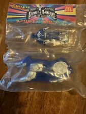 Mighty Morphin' Power Rangers Blue Ranger w/ Wolf Ninjazord 1994 McDonald's New