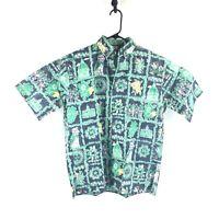 Ke Nui University of Notre Dame Fighting Irish Men Hawaiian Shirt Small NWT VTG