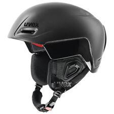 Sale NEW UVEX JIMM OCTO + SKI SNOWBOARD HELMET Black Mat- Shiny S / M 52 - 55 cm