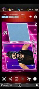 Topps WWE SLAM Digital 2021 Women's Division Pink Mat Relic Reckoning 238CC