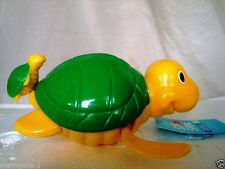 HELLO SUNSHINE TURTLE WATER SWIMMER,BATH TIME TOY,SPLASH & SWIM BUDDY,AGE 2+,NEW
