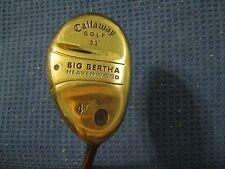 Callaway Big Bertha S2H2 womens 4H Heavenwood Hybrid 23*  Ladies Gems Graphite